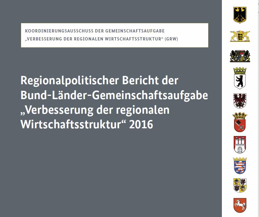Titelseite des Berichts
